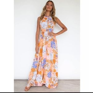 NWT Abel The Label Maxi Pastel Romance in XS